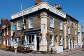 Sole Bay Inn Southwold Suffolk — Stock Photo
