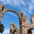 Stock Photo: Ruins of Lindisfarne Priory