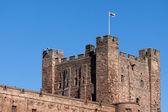 Vew of Bamburgh Castle — Foto Stock