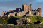View of Bamburgh Castle — Foto de Stock