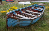 Old rowing boat — Stock Photo