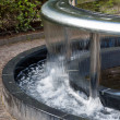 Water feature in Alnwick Castle gardens — Stock Photo #41063099