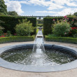 Water feature in Alnwick Castle gardens — Stock Photo #41063721