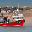 RNLI rescue demonstration at Staithes — Stok Fotoğraf #41065591