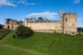 View of Alnwick Castle — Stockfoto