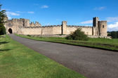 View of Alnwick Castle — Stock Photo