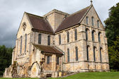 View of buildings at Brinkburn Abbey — Stock Photo