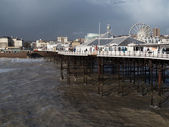 Brighton after the storm — Stock Photo