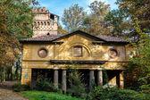 Derelict building in Parco di Monza Italy — Stock Photo