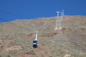 Cable car to Mount Teide — Stock Photo