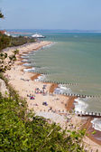 Eastbourne beach — Stock Photo