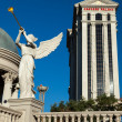 Angel playing bugle outside Caesars Palace — Stock Photo #41328511