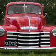 Old red Chevrolet — Stock Photo #41331067