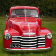 Old red Chevrolet — Stock Photo #41331143