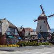 Main street in Solvang — Stock Photo
