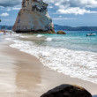 Stock Photo: Cathedral Cove Coromandel Peninsula