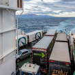 Ferry crossing Cook Strait — Stock Photo #41423587