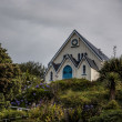 Stock Photo: Gospel Chapel in Kaikoura