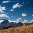 Mt John Observatory — Stock Photo