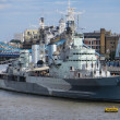 Stock Photo: HMS Belfast
