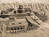 Kum heykel — Stok fotoğraf