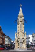 Clock tower in Torquay — Stockfoto