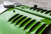 Cloe-up Talbot vintage car — Stock Photo