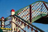 Deganwy railway bridge — Stockfoto
