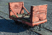 Wagon at the Slate Museum LLanberis — Stock Photo