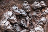 Close-up of part of Battle of Britain War Memorial — Stock Photo