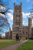 Exterior view of Ely Cathedral — Foto de Stock