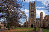 Exterior view of Ely Cathedral — Stock Photo