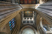 Interior view Ely Cathedral — Stock Photo