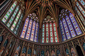 Interior view of part of Ely Cathedral — Foto de Stock