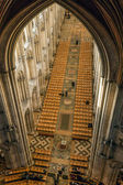 Interior view of part of Ely Cathedral — Stock Photo