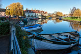 The river Great Ouse at Ely — Stock Photo