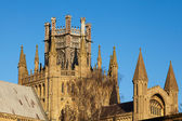 Exterior view of Ely Cathedral — Stockfoto