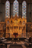 An altar at Ely Cathedral — Foto Stock