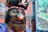 Model pirate at Winter Wonderland Hyde Park — Стоковое фото
