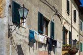 Buildings in Pienza town — Stock Photo