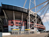 The Millennium Stadium at Cardiff Arms Park — Stock Photo