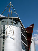 Modern architecture in Cardiff — Stock Photo