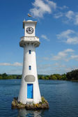 Lighthouse in Roath Park — Stock Photo