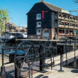 Stock Photo: Dickens Inn at St Katherines dock
