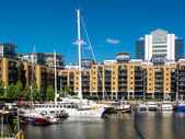St Katherine's Dock London — Stockfoto