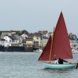 Sailing in Torridge and Taw Estuary — Stock Photo #41612939