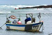 Boat in Bude Harbour — Photo