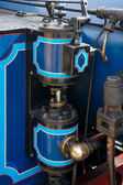 Bluebell steam engine in East Grinstead — Stock Photo