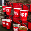 Fire buckets — Stock Photo #41630505