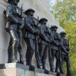 Stock Photo: Guards Memorial